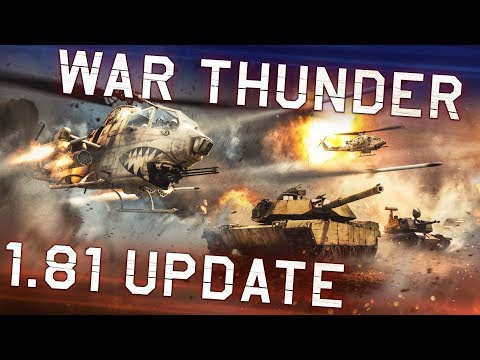 "War Thunder. Update 1.81 ""The Valkyries"""