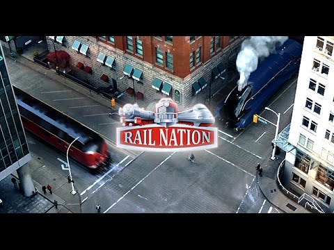 Rail Nation - Trailer 2015 DE